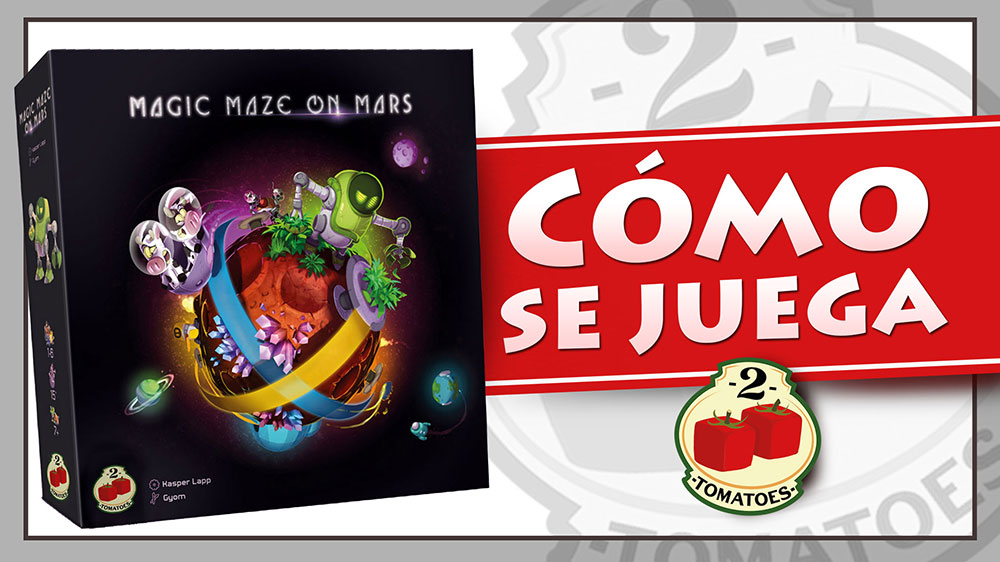 Magic Maze en Marte